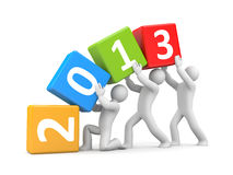 New year coming Royalty Free Stock Photos