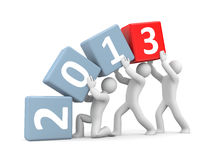 New year coming Stock Photography