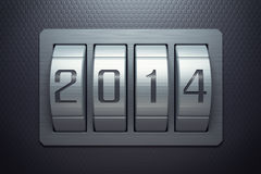 New year 2014. Are coming Stock Images