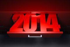 New year 2014. Are coming Royalty Free Stock Photo