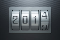 New year 2014. Are coming Stock Photography