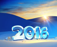 New year 2016. Are coming Royalty Free Stock Images