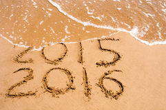 New Year 2016 is coming concept Royalty Free Stock Photos