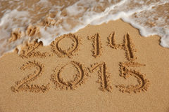 New Year 2015 coming concept Royalty Free Stock Photo