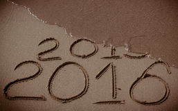 New Year 2016 is coming Stock Image