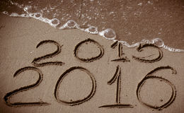 New Year 2016 is coming Royalty Free Stock Photos