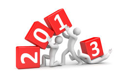 New year coming Stock Images