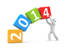 New year coming Royalty Free Stock Photography