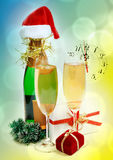 New Year composition Royalty Free Stock Images
