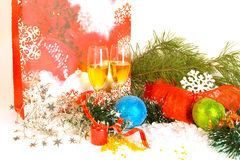 New year composition stock photos