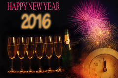 New Year composition 1 Stock Images