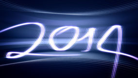 New Year 2014. (computer generated image Stock Photo
