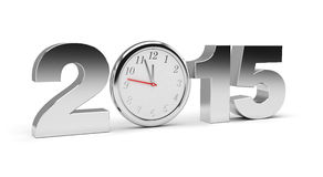 New Year 2015. (computer generated image Stock Photos