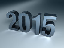 New Year 2015. (Computer generated imege Royalty Free Stock Photos