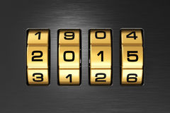 New Year 2015 concept Royalty Free Stock Image