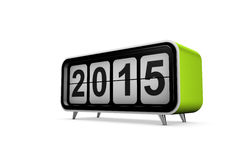 New year 2015. Concept in 3d Stock Images