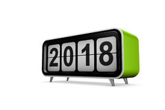 New year 2018 Royalty Free Stock Images