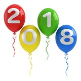 2018 New year concept Royalty Free Stock Photos