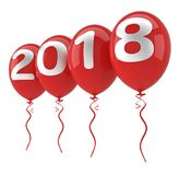 2018 New year concept Stock Images