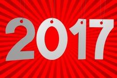 2017 New Year concept Stock Photos