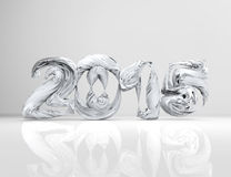 New Year 2015-concept. 3d render Stock Photography
