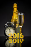 2016 New Year concept royalty free stock photos