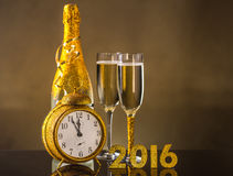 2016 New Year concept Royalty Free Stock Images