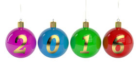 New Year 2016 concept Stock Image
