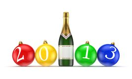 New 2013 year concept. Royalty Free Stock Image