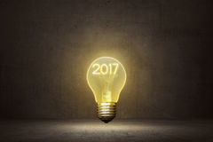 2017 New Year Concept Stock Photo