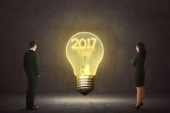 2017 New Year Concept Royalty Free Stock Photography