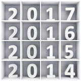 New Year concept Royalty Free Stock Photography