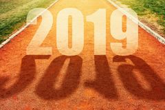 2019 New Year concept royalty free stock images