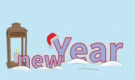 New Year. concept of New Year`s holidays. vector illustration. New Year. concept of New Year`s holidays. vector illustration . new Year. concept vector illustration