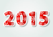 New Year concept. With 2015 number Stock Photo