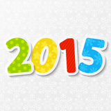 New Year concept. With 2015 number Stock Image
