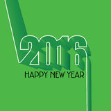 New year 2016. Concept vector Royalty Free Stock Image