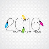 New year 2016. Concept vector illustration royalty free illustration