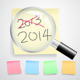 New year concept Royalty Free Stock Image