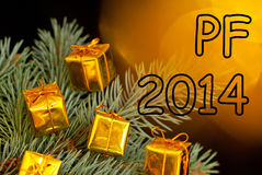 New year congratulation Royalty Free Stock Photos