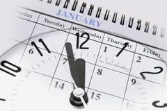 New year countdown Stock Photos