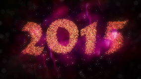 New Year 2015 Countdown royalty free illustration
