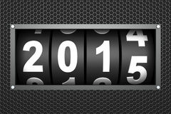2015 New year. Countdown timer vector illustration