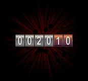 New year counter. Vector illustration vector illustration