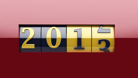 New Year Counter 2013 Royalty Free Stock Photo