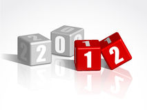 New Year counter Stock Photography