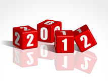 New Year counter Royalty Free Stock Photography