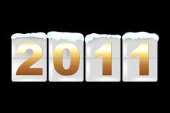 New Year Counter. Vector Stock Photos