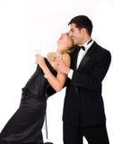 New Year Couple Royalty Free Stock Photos