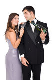 New year couple Royalty Free Stock Images